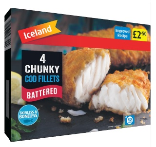 Icelands Chunky Cod Fillets