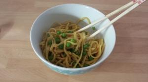 sweet chilli noodles