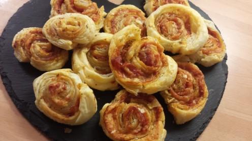Pepperoni Pinwheels