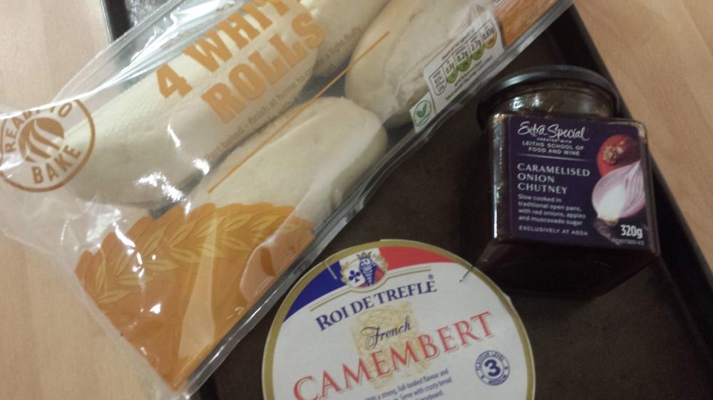 Date Night Starter Baked Camembert