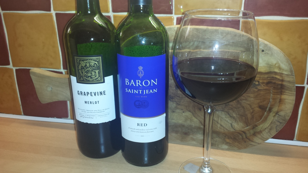 Review of Aldi Red Wine