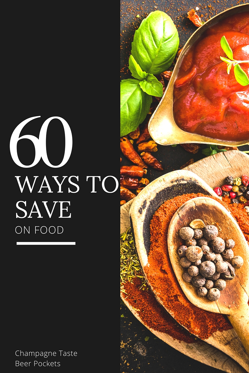 60 ways to save on food