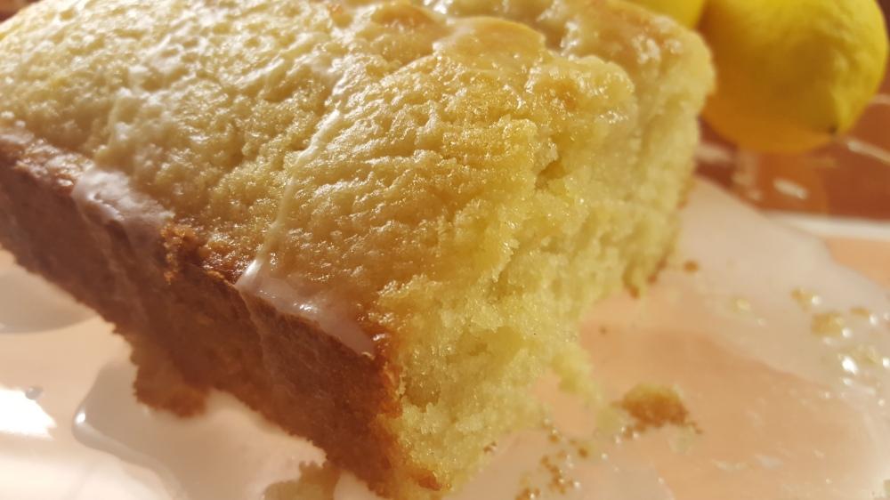 lemon drizzle cake no nuts
