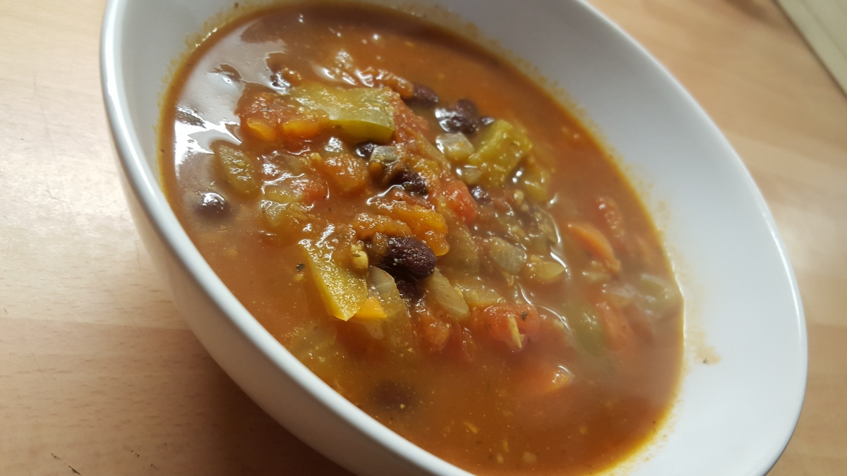 Mexican Bean Soup (v)