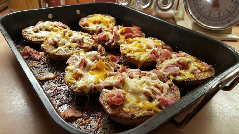 jacket potato traybake - cheap recipes